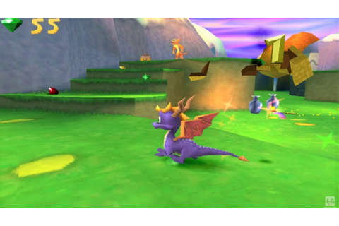Spyro: Year of the Dragon - PS1 Gameplay (720p60fps) - YouTube