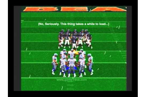 Game-Rave.com: Madden NFL '96 Gameplay Video - YouTube