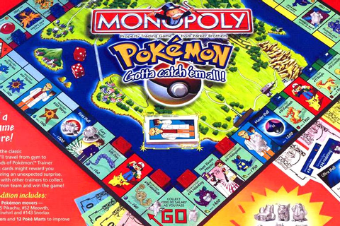 Pokemon Collector's Edition (1995) Monopoly Board Game