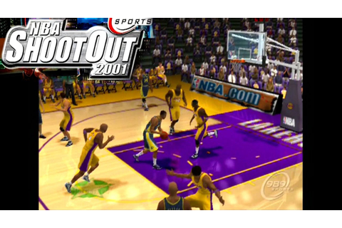 NBA ShootOut 2001 ... (PS2) - YouTube
