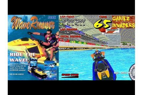SEGA WAVERUNNER GP Jet Ski Racing Game (Intermediate Track ...