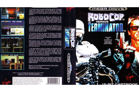 MEGA DRIVE - ROBOCOP Vs TERMINATOR [720p HD] - YouTube