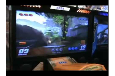Primeval Hunt Video Arcade Game - From BMI Gaming - Sega ...