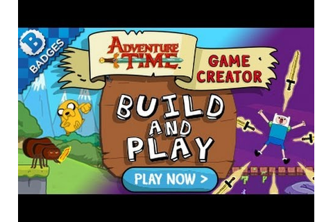 Adventure Time Game Creator: Build and Play - Creating a ...
