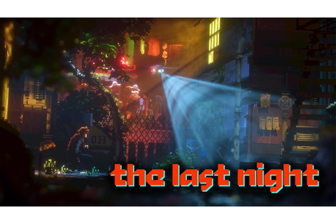 AMAZING LOOKING 16-BIT GAME! | The Last Night [GAMEPLAY ...