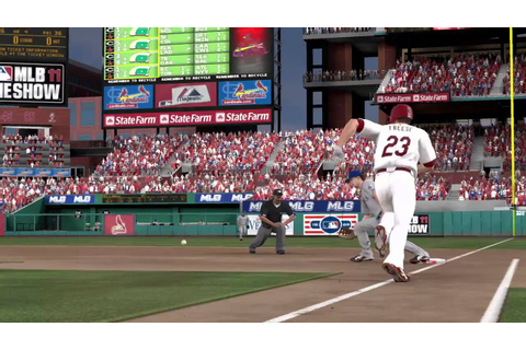 MLB 11: The Show baseball game trailer - PS3 exclusive ...