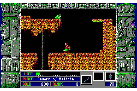 Download Zeliard rpg for DOS (1987) - Abandonware DOS