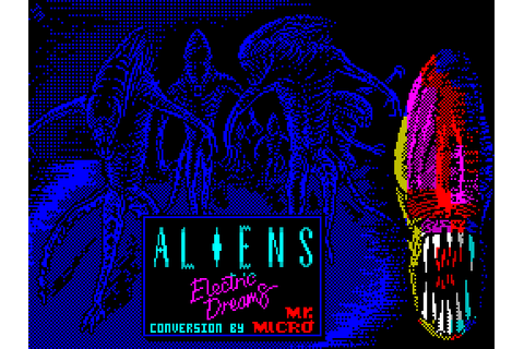 Aliens: The Computer Game (1987) by Mr. Micro ZX Spectrum game