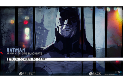 Batman: Arkham Origins Blackgate - Game - Nintendo World ...