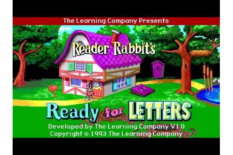 Reader Rabbit: Ready for Letters - MAC - Part 1 - YouTube
