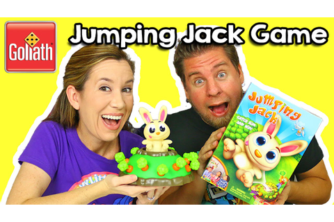 Jumping Jack Game By Goliath Games - YouTube