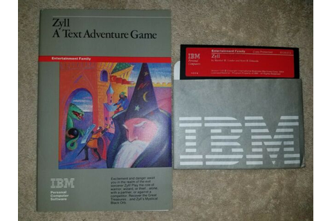 "1984 IBM Zyll A Text Adventure 5.25"" Software Game 4089 ..."