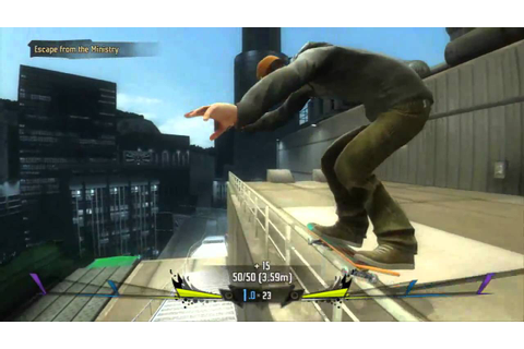 Shaun White Skateboarding GamePlay - YouTube