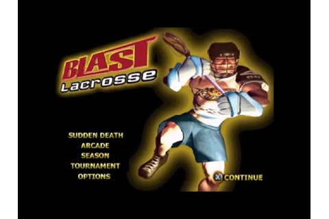 More obscure games: Blast Lacrosse PS1 intro and gameplay ...