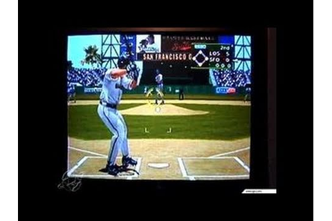 World Series Baseball 2K2 Dreamcast Gameplay_2001_06_07 ...