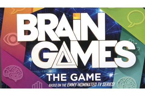 Brain Games The Game from Buffalo Games - YouTube