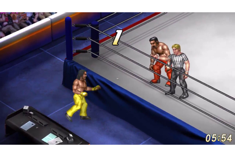 Fire Pro Wrestling World Gameplay (No commentary ...