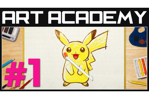 Pokemon Art Academy Gameplay Part 1 - Introduction and ...