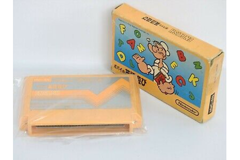 Famicom POPEYE EIGO ASOBI English No Instruction cdn ...