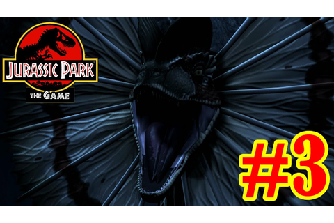 Dilophosaurus attack! | Jurassic Park - The Game | #3 ...