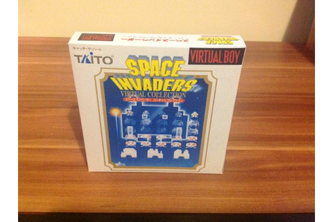 Virtual Boy Space Invaders Repro Box No Game Included