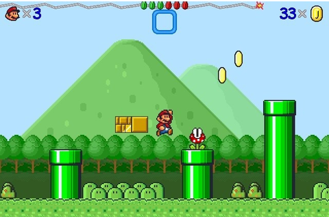 Also see - like Mario Game: Super Mario Bros 3000