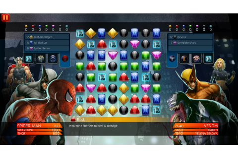 THE MARVEL PUZZLE QUEST ON CONSOLES CONUNDRUM | Comic ...