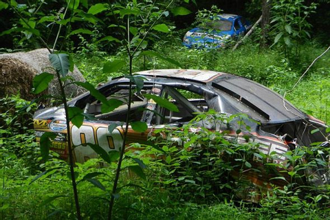 An In-Depth Look At Dale Earnhardt Jr.'s Car Graveyard