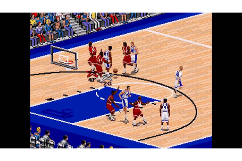 Coach K College Basketball ... (Sega Genesis) - YouTube