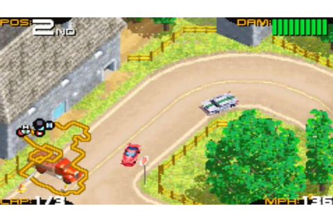 Racing Gears Advance (Gameboy Advance Gameplay) - YouTube