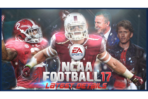 EA Sports NCAA Football Latest Details! - YouTube