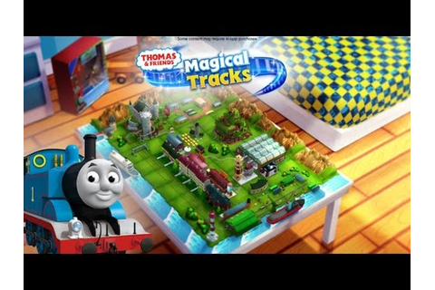 THOMAS & FRIENDS MAGICAL TRACKS | FREE KIDS TRAIN GAME BY ...