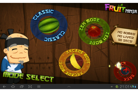Android App Review Thailand: Android game - Fruit Ninja