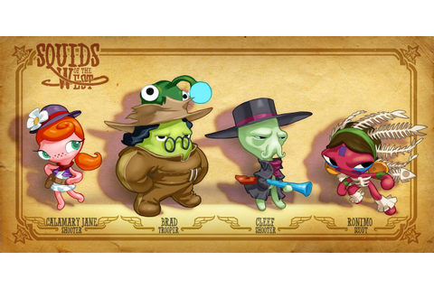 GDC 2012: 'Squids' Sequel 'Squids Western Kingdom' Coming ...