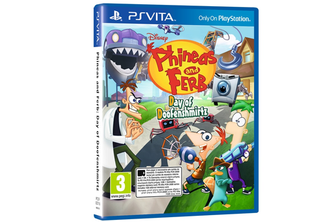 Phineas and Ferb: Day of Doofenshmirtz - PS Vita Game ...