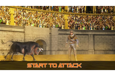 Angry Bull Fight Shooting Game
