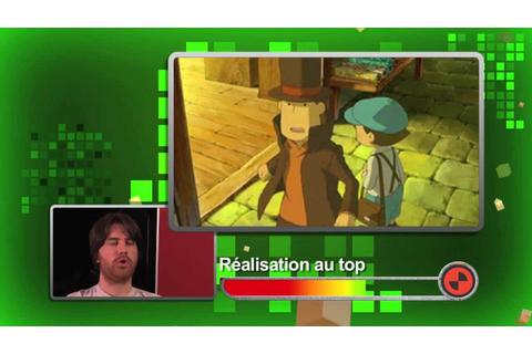 Professeur Layton et l'appel du spectre - DS - Test Video ...