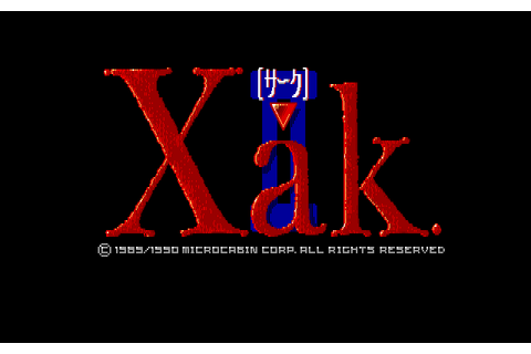 Download Xak II: Rising of the Redmoon - My Abandonware