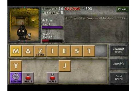 Blast from the Past: Word Game Dungeon Crawler 'Dungeon ...