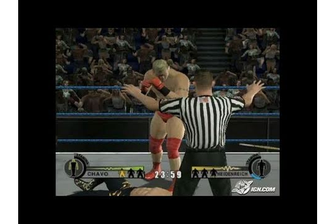 WWE Day of Reckoning 2 GameCube Gameplay - No Way Out ...