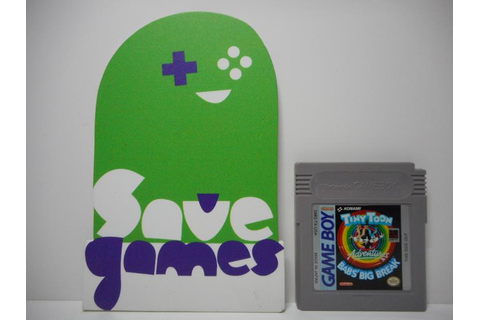 Tiny Toon Adventures Babs'Big Break - Save Games