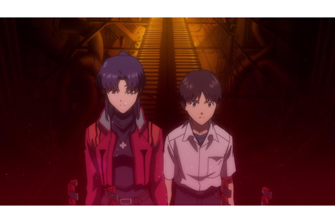 Image - Misato with Shinji at Terminal Dogma (Rebuild).png ...