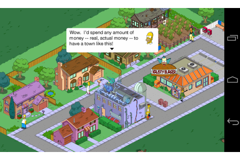 The Simpsons: Tapped Out. Homer blew up Springfield, help ...