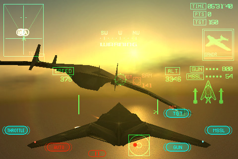ACE COMBAT Xi Skies of Incursion App for iPad - iPhone