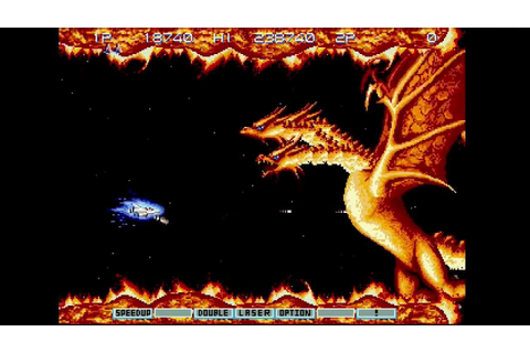 Gradius III (Arcade/PS2) Stage 7: Lava/Fire - YouTube
