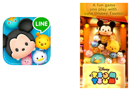 Disney Launches Its LINE Platform Game Tsum Tsum to a ...