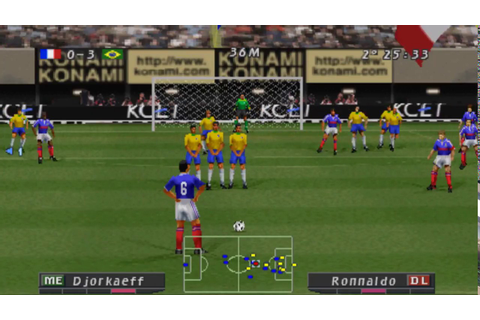 ISS Pro Evolution Soccer 2 PSX-Bio/Rom Descarga/Download ...