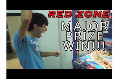 Major Prize WIN!!! - Red Zone Arcade Game - YouTube