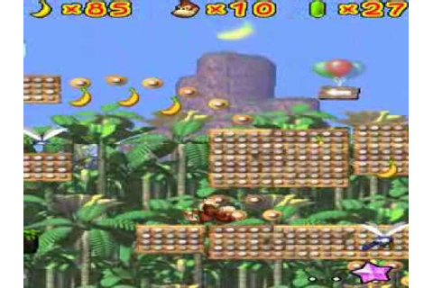Donkey Kong: Jungle Climber [NDS] - Gameplay - YouTube