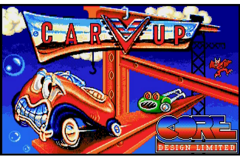 Classic Gaming Blog: Retro Review: CarVup - Commodore Amiga